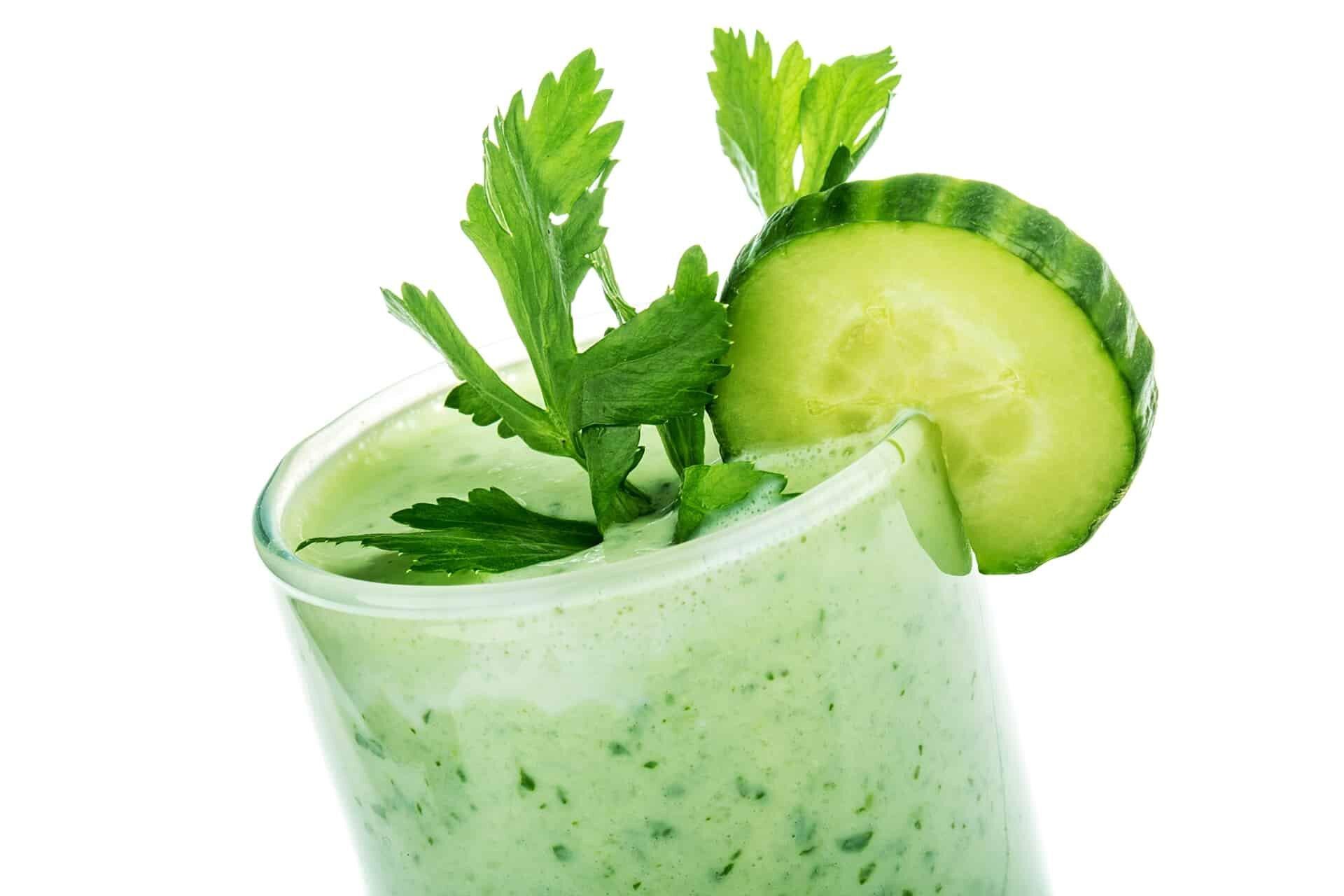 Drinking Celery Juice