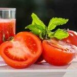 Drinking Tomato Juice